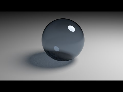 Blender Beginner Tutorial Glass Ball Cycles