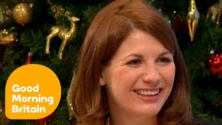 Broadchurch actress Jodie Whitaker jokes about working with talented youngsters. Watch more videos from Good Morning Britain...