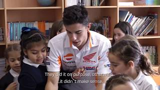Video Marc Márquez and Dani Pedrosa as 'maths teachers' MP3, 3GP, MP4, WEBM, AVI, FLV Juni 2018