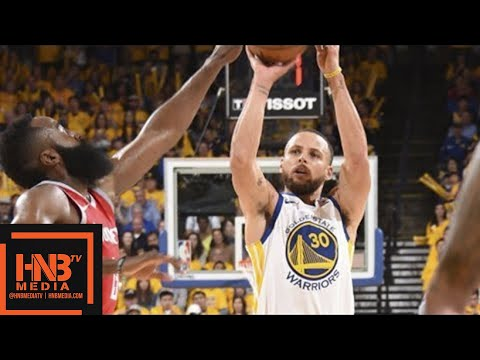 Golden State Warriors vs Houston Rockets Full Game Highlights / Game 3 / 2018 NBA Playoffs (видео)