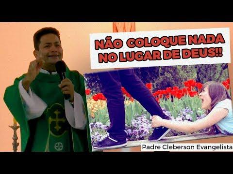 NÃO COLOQUE NADA NO LUGAR DE DEUS!!
