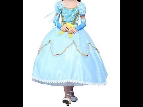 Robe de princesse La Ssara : déguisement  cendrillon
