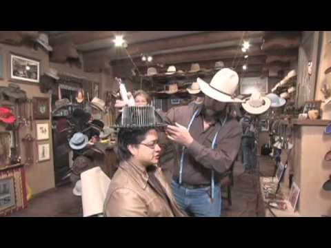 A Day in Santa Fe tm, O'Farrell Hats, Santa Fe
