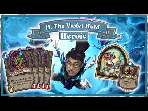 The Dalaran Heist Ch.2 Heroic - INSANE FREE WIN DECK! | Rise of Shadows | Hearthstone