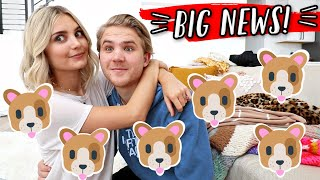 VERY EXCITING ANNOUNCEMENT!!! VLOGMAS DAY 4! by Aspyn + Parker