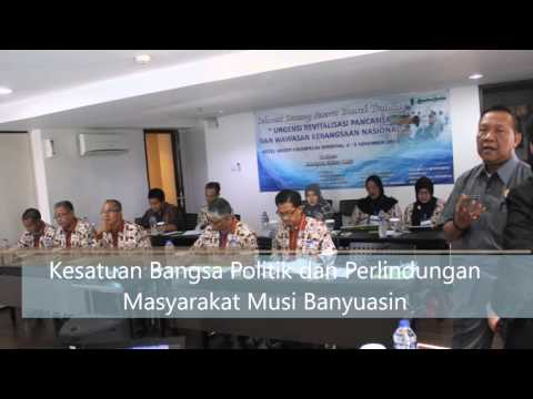Pelatihan Urgensi Revitalisasi Pancasila dan Wawasan Kebangsaan Nasional