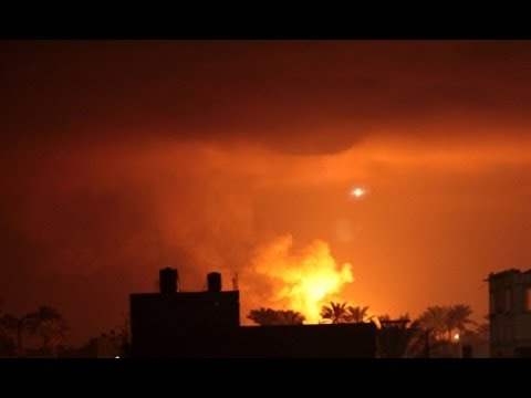 Israel : Netanyahu hammers the Gaza Strip over the death of three Israeli Teenagers (Jul 01, 2014)