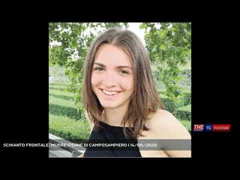 SCHIANTO FRONTALE: MUORE 17ENNE DI CAMPOSAMPIERO | 14/09/2020