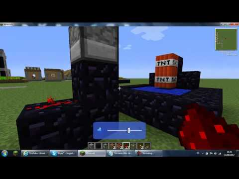 Minecraft - Como hacer un cañón de flechas.