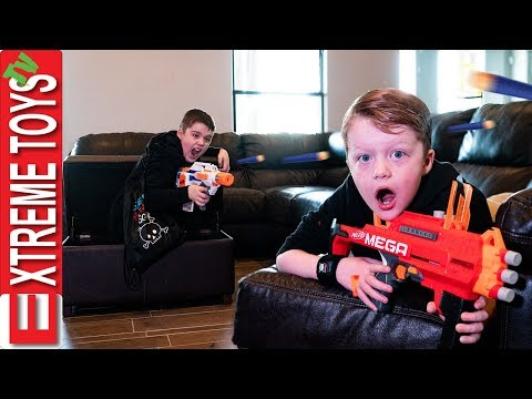 The Return Of Sneak Attack Squad Training! Wild Dinosaur Nerf Madness