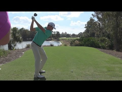 HARRIS ENGLISH 2013 DRIVER GOLF SWING – STRAIGHT DTL & SLOW MOTION  – 1080p HD