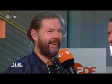 Rea Garvey - Kiss Me (ZDF-Morgenmagazin. mo:ma Café - 2018-08-29)