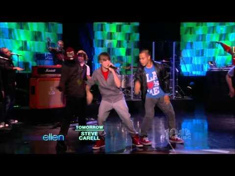 [1080p] Justin Bieber Baby  (Ellen DeGeneres 17.05.2010)  HD