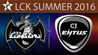 Longzhu vs CJ Entus, game 1