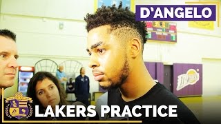 D'Angelo Russell On The NBA GM Poll Predicting He Will Have A Breakout Season by Lakers Nation