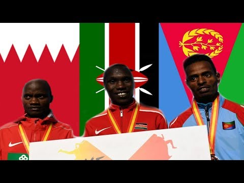 Eritrea -  IAAF World Half Marathon 2018 Highlights - Eritrean Aron Kifle