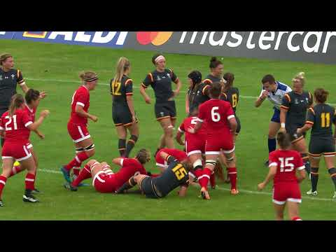 Watch HIGHLIGHTS: Canada beat Wales at Women's Rugby World Cup 2017