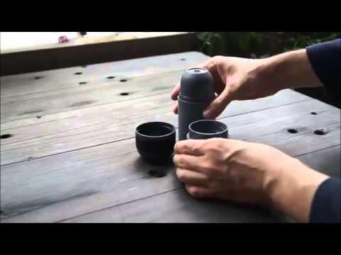 La caffettiera tascabile: l'espresso è a p...