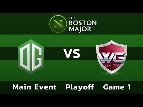 OG vs WarriorsGaming.Unity — Game 1 • Playoff Main Event — Boston Major
