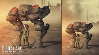 Hey Everyone. This tutorial will show you how to create an Sci-fi cinematic scene photo manipulation in Photoshop. I hope you like it and thank you for watching!More Photoshop Tutorials: http://www.youtube.com/c/MirRom14Tutorial Resources:Desert1 by Crysomandiaz: http://crysomandiaz.deviantart.com/art/The-criss-crossed-hills-606830779Desert2 by HumbleBeez: http://humblebeez.deviantart.com/art/desert-stock-4-186033207Model by mjranum-stock: http://mjranum-stock.deviantart.com/art/Death-Bird-7-74575743Futuristic Weaponry by ArtReferenceSource: http://artreferencesource.deviantart.com/art/Free-Stock-PNG-Futuristic-Weaponry-603058281Sky by SalsolaStock: http://salsolastock.deviantart.com/art/Mad-Sky-8-321353023Industrial by KLStock: http://klstock.deviantart.com/art/Industrial-Stock-10-114987162Industrial2 by cyborgsuzystock: http://cyborgsuzystock.deviantart.com/art/skyline-03-industrial-25472653Follow Us : Facebook : https://goo.gl/H5m598Google+ : https://goo.gl/PMkAPNWeb : http://goo.gl/E4vwh4Twitter : http://bit.ly/1RlY5QnMusic Credits:Despair and Triumph by Kevin MacLeod is licensed under a Creative Commons Attribution license (https://creativecommons.org/licenses/by/4.0/)Source: http://incompetech.com/music/royalty-free/index.html?isrc=USUAN1400012Artist: http://incompetech.com/