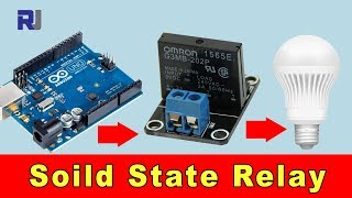 How to use Solid State Relay with Arduino to Control AC load