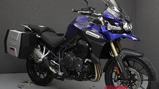3. 2012  TRIUMPH  TIGER EXPLORER W/ABS  - National Powersports Distributors