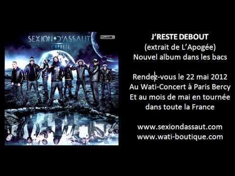 Tekst piosenki Sexion d'assaut - J'reste Debout po polsku