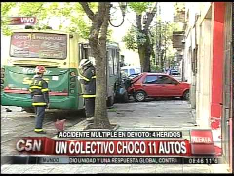 Accidente en cadena