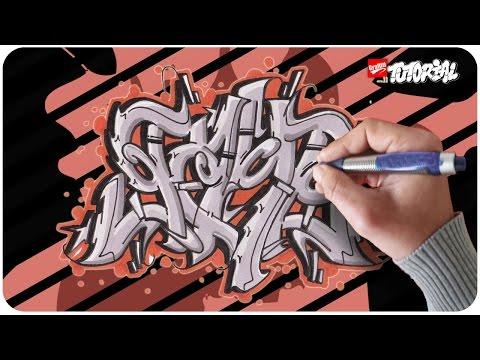 Graffiti Lernen Schritt für Schritt – Game – Funky Style