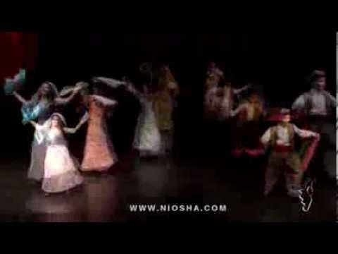 Naz Maka Kordi Dance by Niosha Dance Academy (видео)