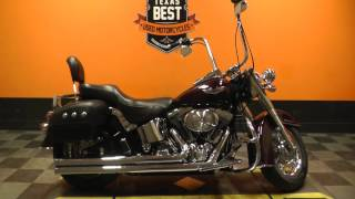10. 018383 - 2006 Harley Davidson Softail Deluxe FLSTN - Used motorcycle for sale