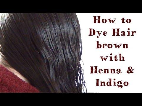 How To Dye Hair With Henna And Indigo ♥ My Henna Hair