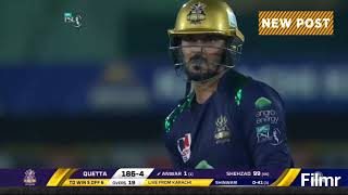 Karachi Kings vs Quetta Gladiators PSL4 Match 28 Thrilling Last Over