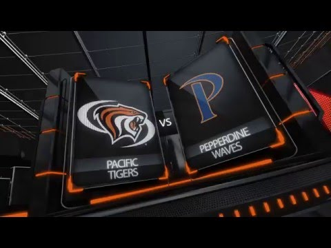 HIGHLIGHTS: Men's Basketball vs. Pepperdine