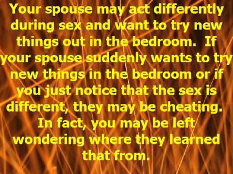 Behavior Changes that May Signal a Cheating Spouse