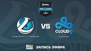 Luminosity vs. Cloud9 - ESL Pro League S5 - de_train [Flife]