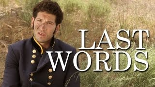 Sketch - Last Words with Mark Pellegrino and Jon Bernthal
