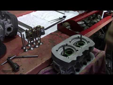 valve job on1914 VW cylinder heads