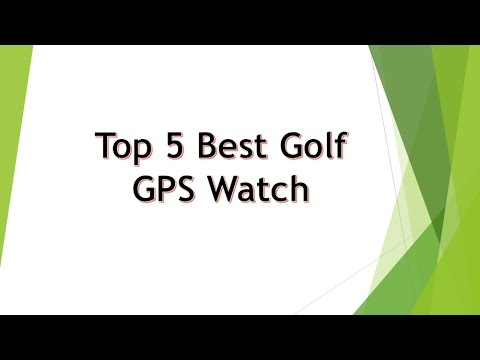 Top 5 best golf GPS watch 2017 - Think before buy!