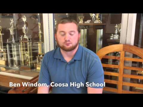 Coosa Valley News Person of the week - Ben Windom