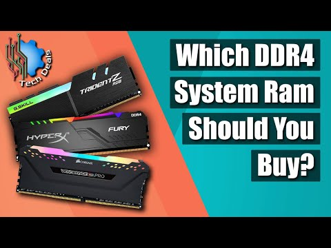 What RAM Should You Buy for Intel & AMD Ryzen CPUs?