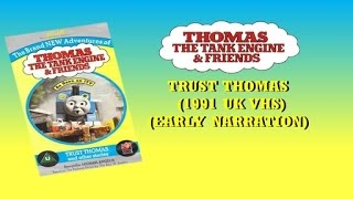 Thomas The Tank Engine: Trust Thomas & other stories (Early Narration - 1991 UK VHS) full download video download mp3 download music download