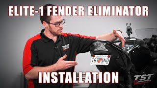 9. How to install an Elite-1 Fender Eliminator on a 2017+ Kawasaki Ninja 650 by TST Industries