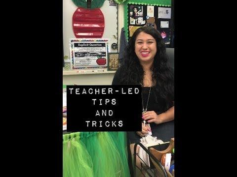 Teacher Vlog: Teacher Led Center Tips and Tricks