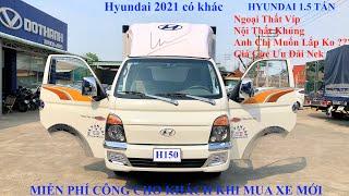 Xe Tải 1T5 Hyundai Thùng Combosite Cực Chất Hỗ Trợ Vay Trả Góp 80% Giá Trị Xe