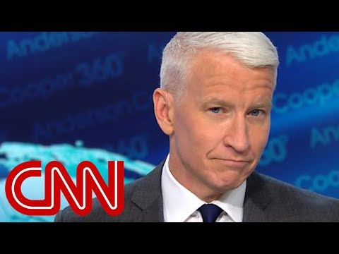 Anderson Cooper: I'm not usually at a loss for words