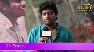 Music Director DA Vasanth at Thuninthu Sel Short Film Screening