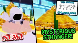 Buying *£* The SHRINE, Desert Design MYSTERY CUSTOMER! | Roblox MY RESTAURANT!