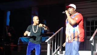 T.I. brings out E-40 to perform Function live @ America's Most Wanted Festival.[HD]