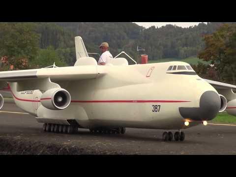 HANS BÜHR RADIO CONTROLLED ANTONOV AN-225 AND BURAN SPACESHIP DECOUPLING SINGULAR_A héten feltöltött legjobb űrhajó videók